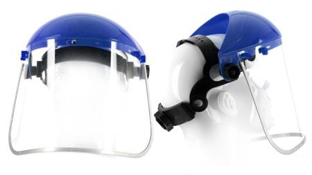 TOP ! Ersatzscheibe für Gesichtsschutz mit Klappvisier Augenschutz Visier